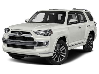 new 2021 Toyota 4Runner car, priced at $49,395