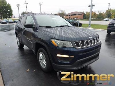 new 2021 Jeep Compass car, priced at $24,930