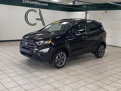 used 2018 Ford EcoSport car, priced at $19,900