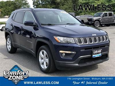 used 2018 Jeep Compass car, priced at $18,303