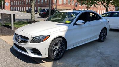 new 2020 Mercedes-Benz C-Class car, priced at $49,595