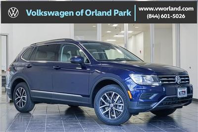 new 2021 Volkswagen Tiguan car, priced at $27,424