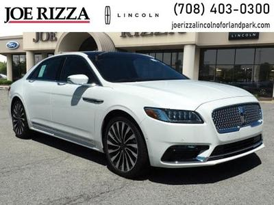 new 2020 Lincoln Continental car, priced at $65,059