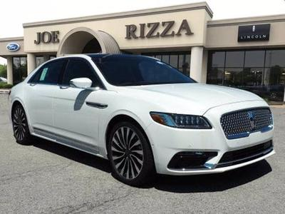 new 2020 Lincoln Continental car, priced at $70,726