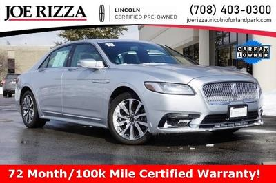 used 2018 Lincoln Continental car, priced at $26,990