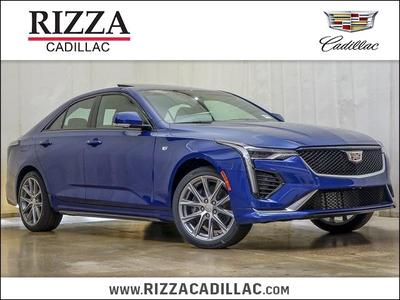 new 2020 Cadillac CT4 car, priced at $44,536