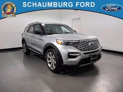 new 2020 Ford Explorer car, priced at $51,334