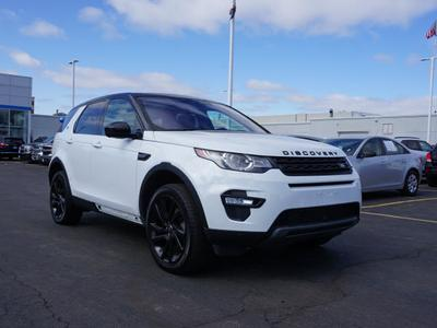 used 2017 Land Rover Discovery Sport car