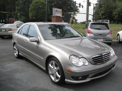 used 2007 Mercedes-Benz C-Class car, priced at $4,490