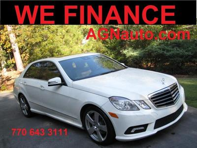 used 2011 Mercedes-Benz E-Class car, priced at $13,090