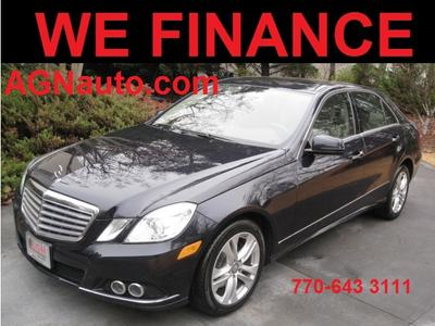 used 2010 Mercedes-Benz E-Class car, priced at $11,090