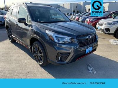 new 2021 Subaru Forester car, priced at $32,071
