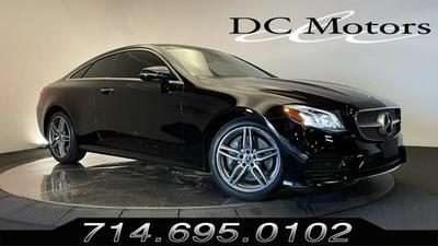 used 2018 Mercedes-Benz E-Class car, priced at $49,800
