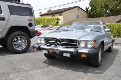 used 1983 Mercedes-Benz SL-Class car, priced at $9,995