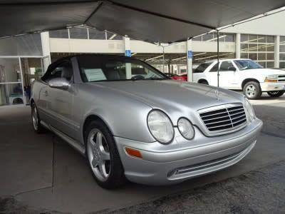 used 2002 Mercedes-Benz CLK-Class car, priced at $6,995