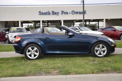 used 2006 Mercedes-Benz SLK-Class car, priced at $9,995