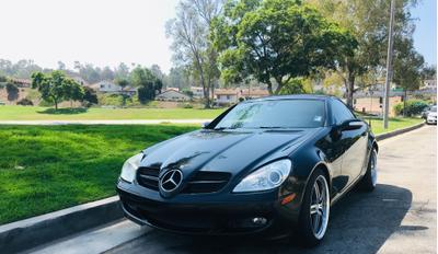 used 2006 Mercedes-Benz SLK-Class car, priced at $11,995