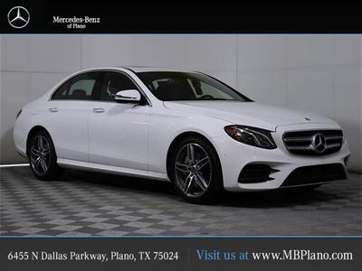 new 2020 Mercedes-Benz E-Class car, priced at $59,635
