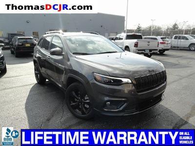 new 2021 Jeep Cherokee car, priced at $25,717