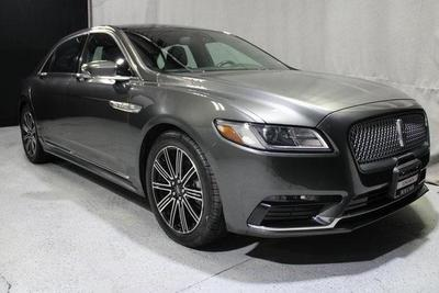 used 2017 Lincoln Continental car, priced at $31,987