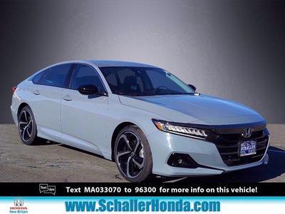 new 2021 Honda Accord car, priced at $28,496