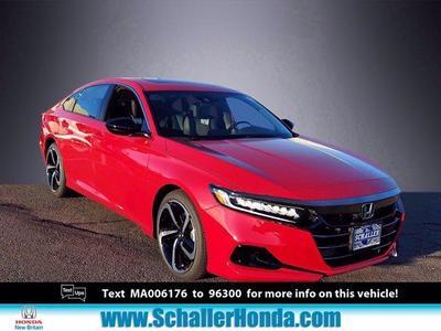 new 2021 Honda Accord car, priced at $30,872