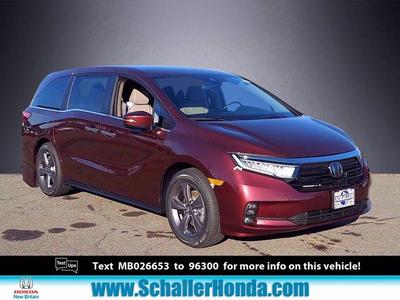 new 2021 Honda Odyssey car, priced at $33,520