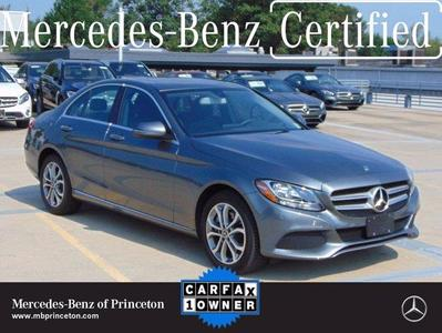 used 2018 Mercedes-Benz C-Class car, priced at $36,888