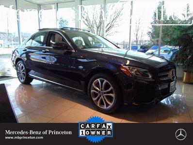 used 2018 Mercedes-Benz C-Class car, priced at $38,888