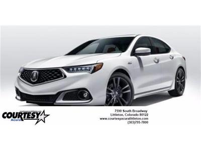 new 2019 Acura TLX car, priced at $43,125