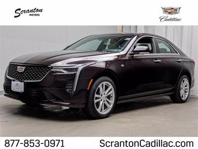 new 2021 Cadillac CT4 car, priced at $39,815