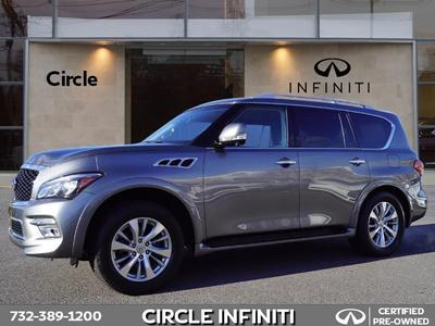 used 2017 INFINITI QX80 car, priced at $44,900