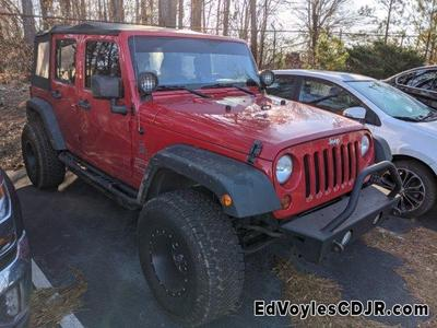 used 2012 Jeep Wrangler Unlimited car, priced at $17,780