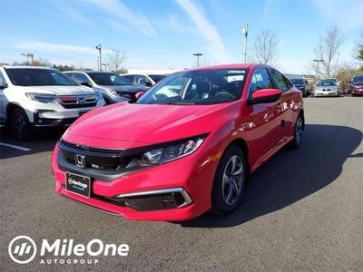 new 2021 Honda Civic car, priced at $21,033