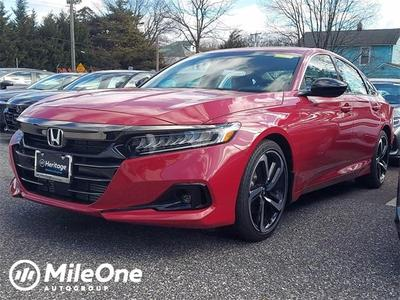 new 2021 Honda Accord car, priced at $27,886