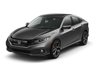 new 2021 Honda Civic car, priced at $24,200