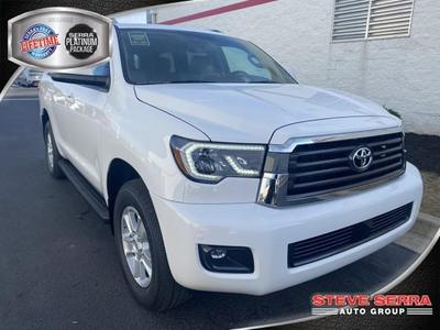 new 2021 Toyota Sequoia car, priced at $54,137
