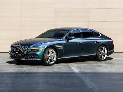 new 2021 Genesis G80 car, priced at $57,070