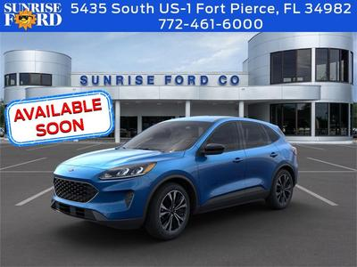 new 2021 Ford Escape car, priced at $27,995