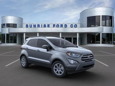new 2021 Ford EcoSport car, priced at $22,190