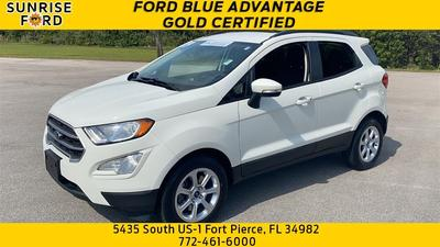 used 2019 Ford EcoSport car, priced at $17,999