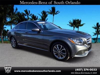 used 2017 Mercedes-Benz C-Class car, priced at $36,589
