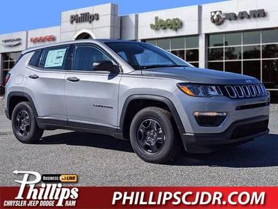 new 2021 Jeep Compass car, priced at $26,010