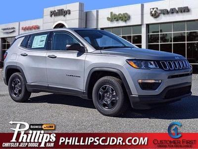 new 2021 Jeep Compass car, priced at $20,408