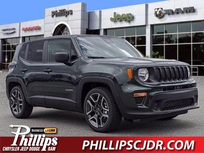 new 2021 Jeep Renegade car, priced at $22,240