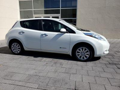 used 2016 Nissan Leaf car, priced at $11,350