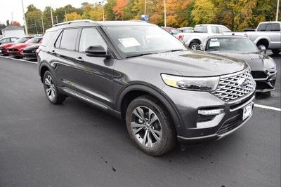 new 2020 Ford Explorer car, priced at $60,560