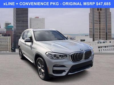 used 2021 BMW X3 car, priced at $39,685