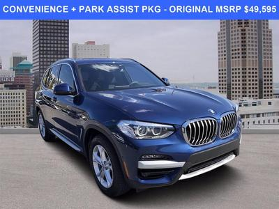 used 2021 BMW X3 car, priced at $41,594