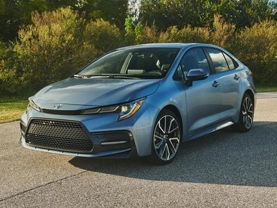 new 2021 Toyota Corolla car, priced at $21,487